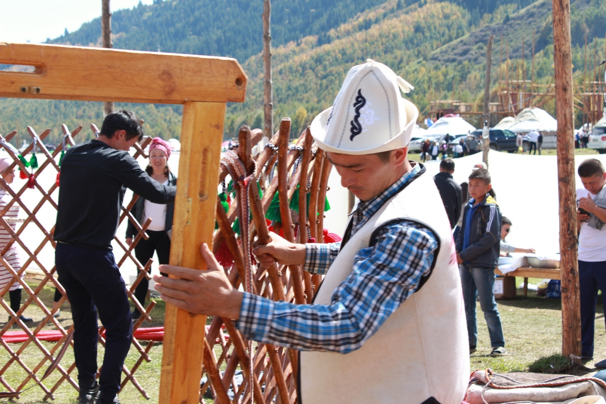 Naryn region won the Grand - Prix in the competition for the best yurt