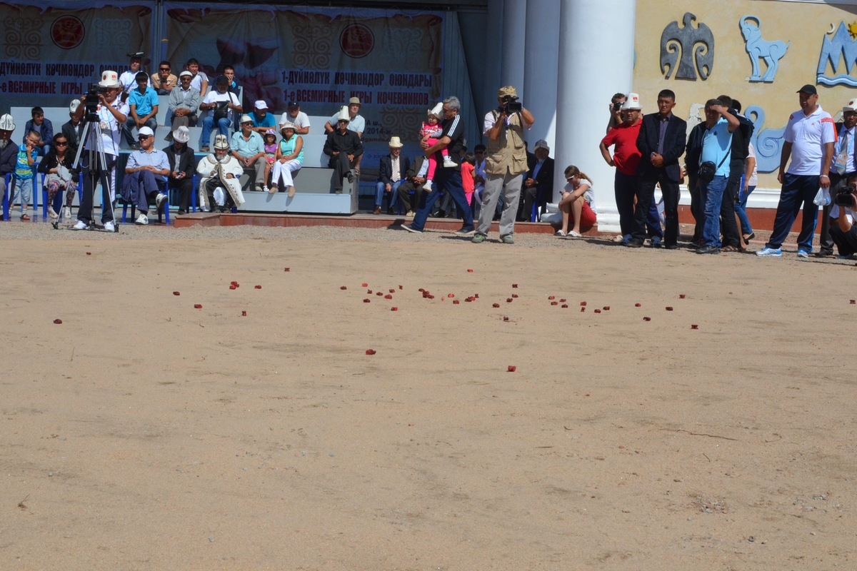 Competitions in ordo at the First World Nomad Games 2014