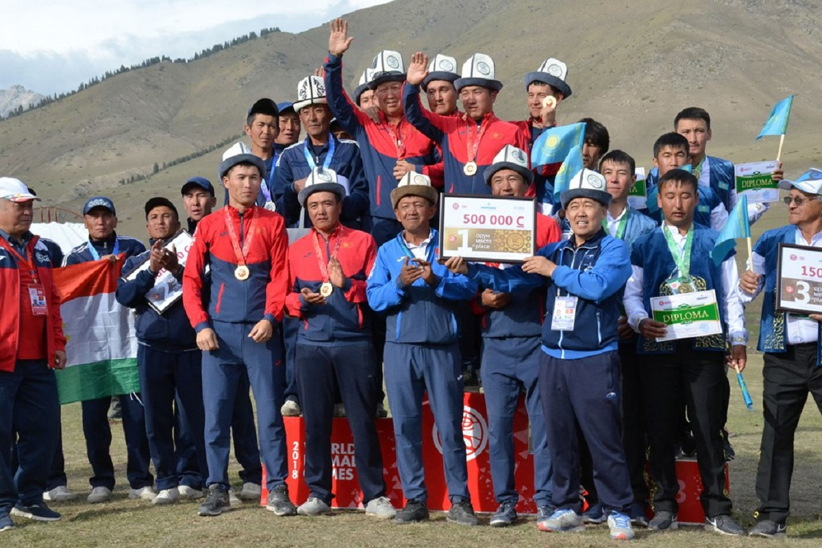 The Kyrgyz team won gold medal in Ordo