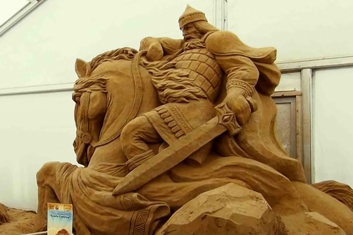 For the First Time Kyrgyzstan will Host an International Sand Sculpting Festival