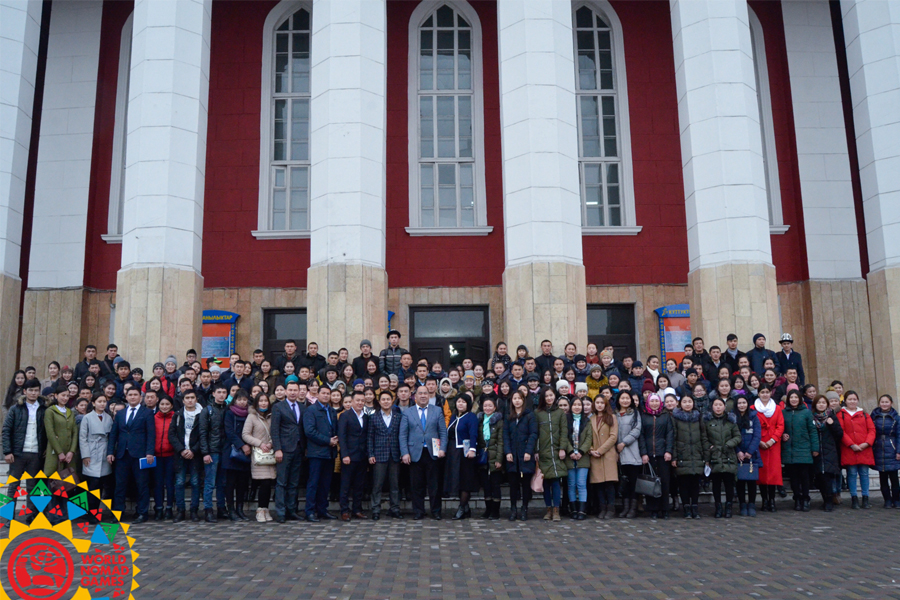 Students of Osh State University Met with Secretariat of III World Nomad Games