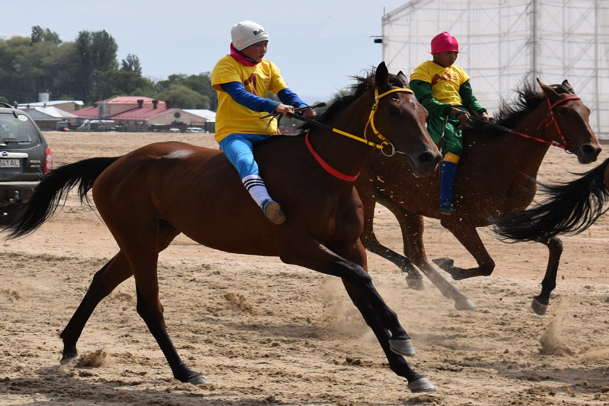 Kyrgyzstanis won 14 medals on horse races