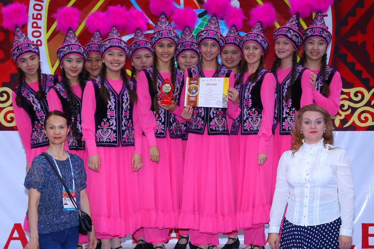 Winners of the II International Central Asian dance Olympics will be invited to the WNG