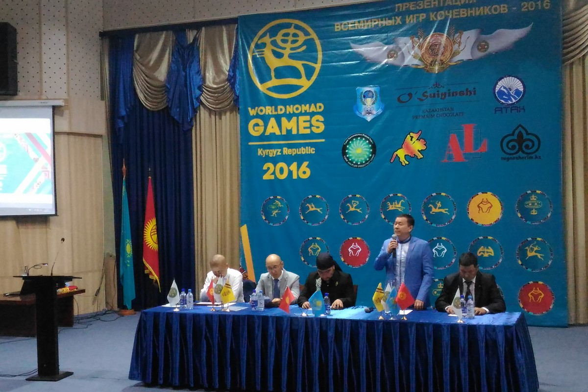 The World Nomad Games were Presented in Kazakhstan