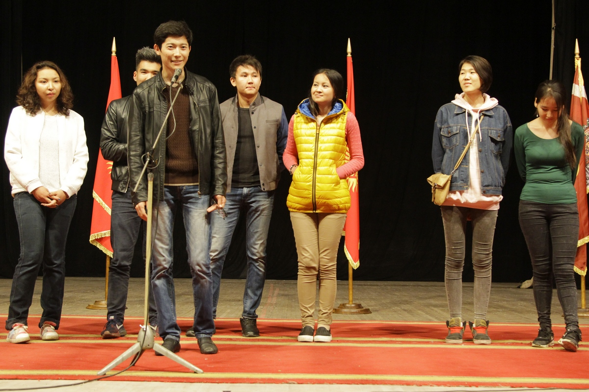 On May 10, in Bishkek was held a meeting with candidates for volunteers