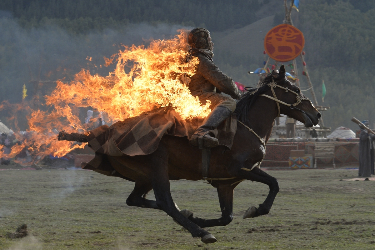 The promo video of the World Nomad Games was presented in Azerbaijan