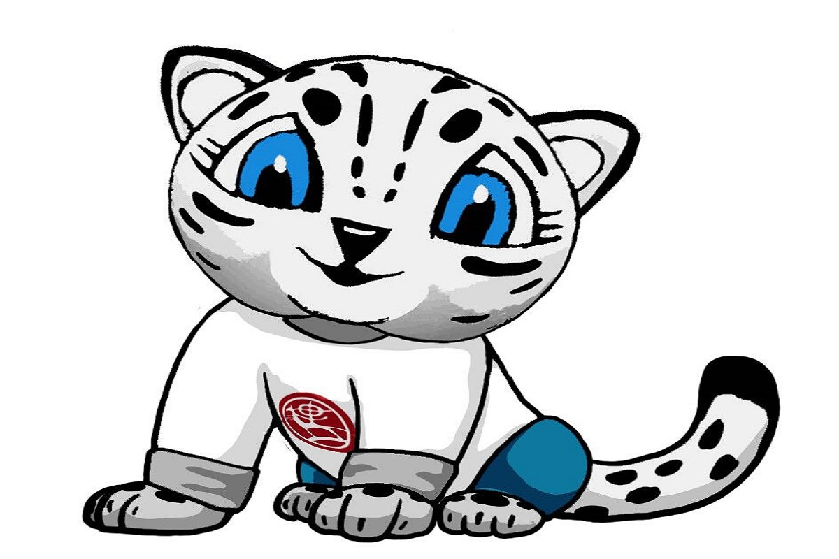 Snow leopard is the talisman of the III World Nomad Games